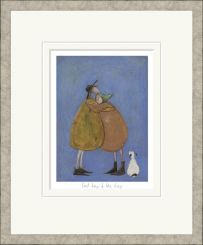 Pavilion Art Last hug of the day by Sam Toft - Limited Edition Framed Print
