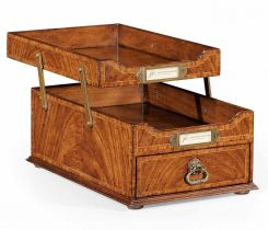 Jonathan Charles Letter Tray Victorian with Drawer