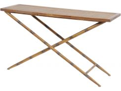 Libra Console Table Antique Bamboo