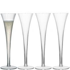 LSA International Aurelia Champagne Flute Set