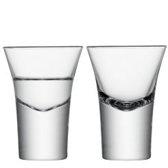 LSA International Bodo Vodka Glass Set