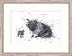 Pavilion Art My Hero by Aaminah Snowdon - Limited Edition Framed Print