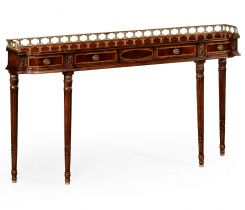 Jonathan Charles Narrow Console Table Georgian