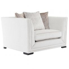 Duresta Clearance Naunton Love Seat in Carraway Champagne