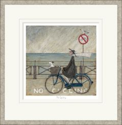 Pavilion Art No Cycling by Sam Toft - Limited Edition Framed Print
