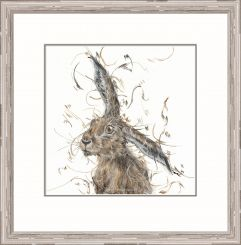 Pavilion Art Nosey Neighbour by Aaminah Snowdon - Limited Edition Framed Print
