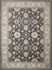 Nourison Rug Persian Crown - Charcoal Ivory