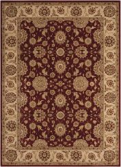 Nourison Rug Persian Crown - Red
