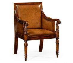 Jonathan Charles Occasional Chair Bergere
