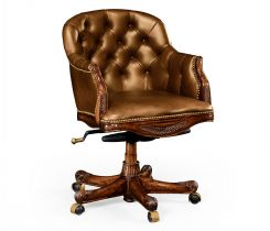 Jonathan Charles Office Chair Chesterfield Style