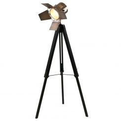 Pacific Lifestyle Film Lamp Tripod in Antique Brass
