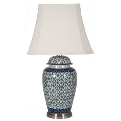 Pacific Lifestyle Porcelain Table Lamp Ginger Jar