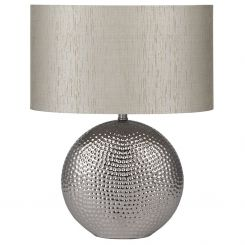 Pacific Lifestyle Table Lamp in Hammered Ceramic