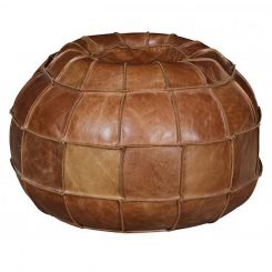 Carlton Furniture Atom Bean Bag in Cerato Leather