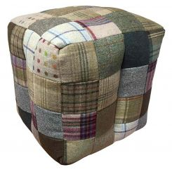 Carlton Furniture Bean Bag in Mixed Wool