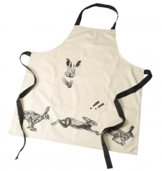 Parlane Apron Hare Cream and Black