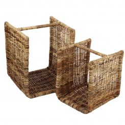 Parlane Basket Ashcroft Set Of 2 Height 56cm