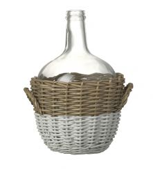 Parlane Bottle W/Willow Glass