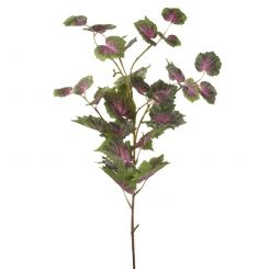 Parlane Grape Leaf Spray Pink/Green H.83cm