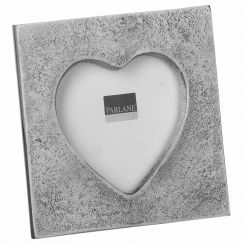 Parlane Photo Frame Heart Silver Height 9cm