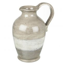 Parlane Pitcher Hapley Ceramic Grey Height 40cm