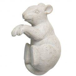 Parlane Pothanger Mouse White Height 9cm