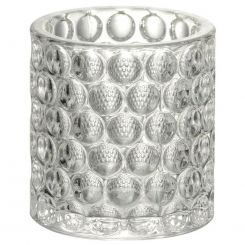 Parlane Tealight Holder Selina Glass Clear Height 10cm