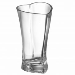 Parlane Vase Heart Glass Clear