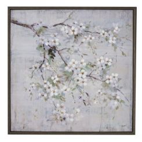 Pavilion Chic Artwork Spring Blossom Framed