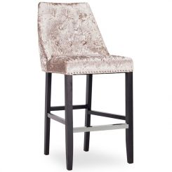 Pavilion Chic Lovell Bar Chair in Crushed Velvet