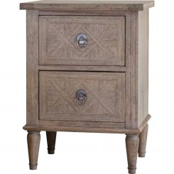 Pavilion Chic Bedside Table Cotswold with Drawers