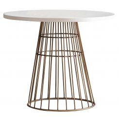 Pavilion Chic Bistro Table Greenwich with Concrete Top