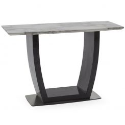 Pavilion Chic Console Table Luciana in White Marble