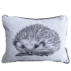 Pavilion Chic Cushion Hedgehog Sketch