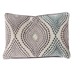 Pavilion Chic Cushion Tripoli Embroidered