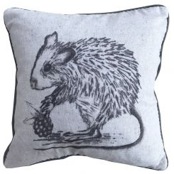 Pavilion Chic Cushion Mouse Sketch