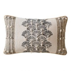 Pavilion Chic Cushion Kemi Print in Ochre