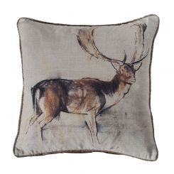 Pavilion Chic Cushion Stag Stanley in Natural