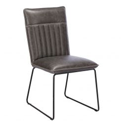 Pavilion Chic Dining Chair Cooper Upholstered in PU Leather