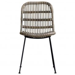 Pavilion Chic Dining Chair Maputo in Rattan