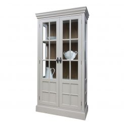 Pavilion Chic Display Cabinet Kano in Grey