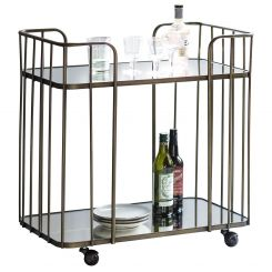 Pavilion Chic Drinks Trolley Adelaide Antique Bronze