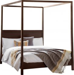 Pavilion Chic Four Poster Bed Burnsall