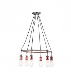 Pavilion Chic Pendant Light Myron in Copper