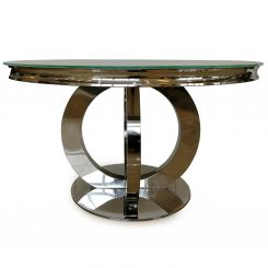 Pavilion Chic Round Dining Table Orion