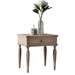 Pavilion Chic Side Table Cotswold with Drawer
