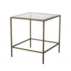 Pavilion Chic Side Table Catania in Bronze