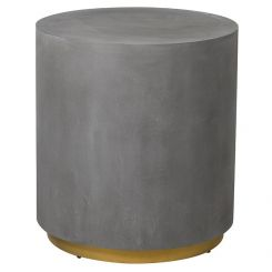 Pavilion Chic Side Table Round Augusta