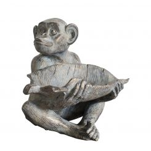 Pavilion Chic Statue Simia Monkey