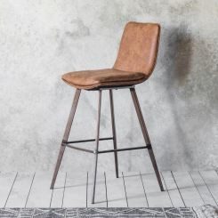 Pavilion Chic Stool Manila in Brown